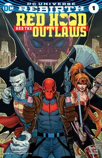 Red Hood and the Outlaws 2016 1