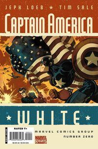 Captain America White 0