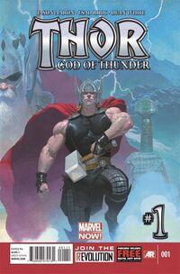 Thor God of Thunder 1