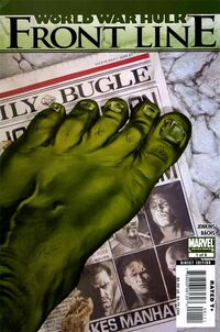 World War Hulk Front Line 1