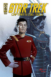 Star Trek Captain's Log Sulu 1