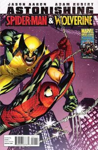 Astonishing Spider-Man Wolverine 1