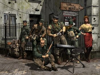 Commandos promotional artwork