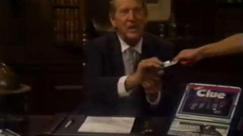 Clue VCR Mystery Game (1985)