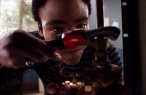 EAASL Troy discovers his plumbing skills