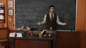 2X3 Professor Bauer's replacement Ian Duncan