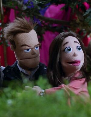 Puppet Jeff and Annie