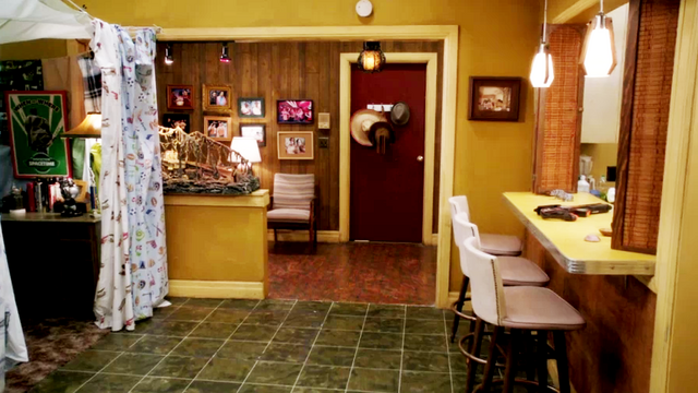 Troy and Abed's apartment