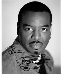 Autographed photo of LeVar Burton