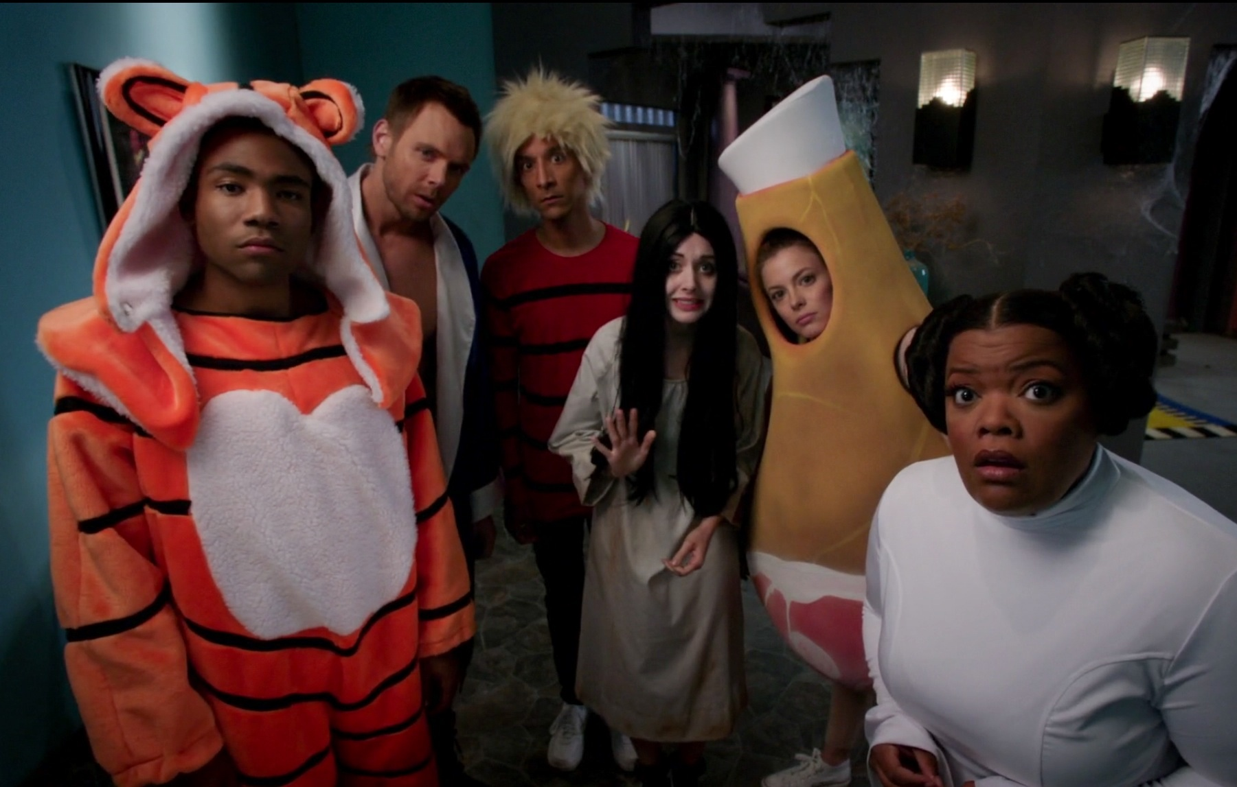 halloween costumes lbr the whole greendale gang