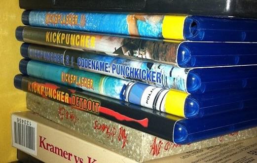 Kickpuncher DVD's