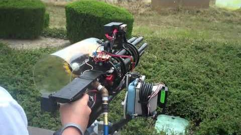 Gatling paint ball gun -courtesy Rick Galinson