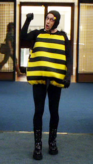 Dean as a Bumblebee