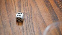 Six dice pips