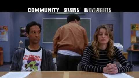 Community The Complete Fifth Season on DVD 8 5!