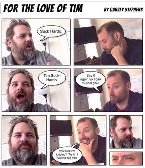 Tim and Dan comic strip