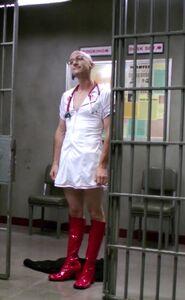 Dean Pelton as a nurse