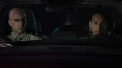 Abed and Dean Pelton in a Honda Commercial for Community