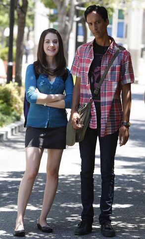 File:Annie and Abed Season Two.jpg