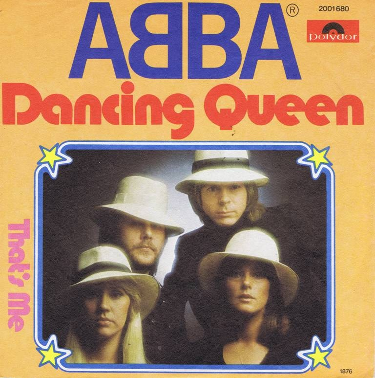 Image result for abba dancing queen album cover