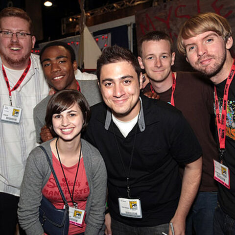 The <i>real</i> sketch comedy troupe <b>Derrick Comedy</b>.