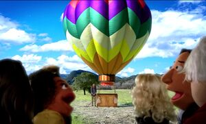 4X9 Going on a Balloon ride