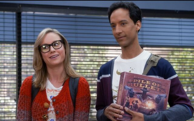 5X9 Rachel and Abed