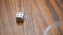 Four dice pips