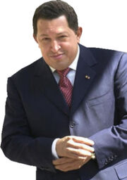 The Image of Chávez used by Conservapedia