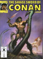 Savage Sword of Conan Vol 1 178