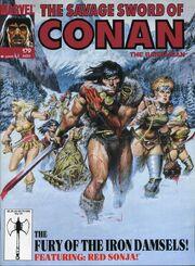 Savage Sword of Conan Vol 1 179