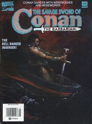 Savage Sword of Conan Vol 1 221