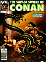 Savage Sword of Conan Vol 1 191