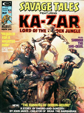 File:Savage Tales 10 May 1, 1975.jpg
