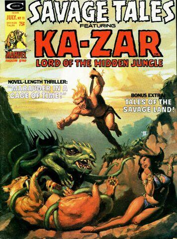 File:Savage Tales 11 1971.jpg