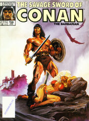 Savage Sword of Conan Vol 1 156
