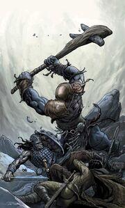 Conan the Cimmerian -4 Frank Cho