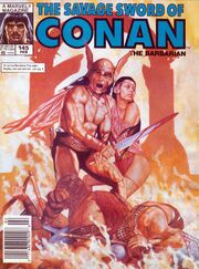 Savage Sword of Conan Vol 1 145