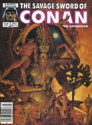 Savage Sword of Conan Vol 1 114