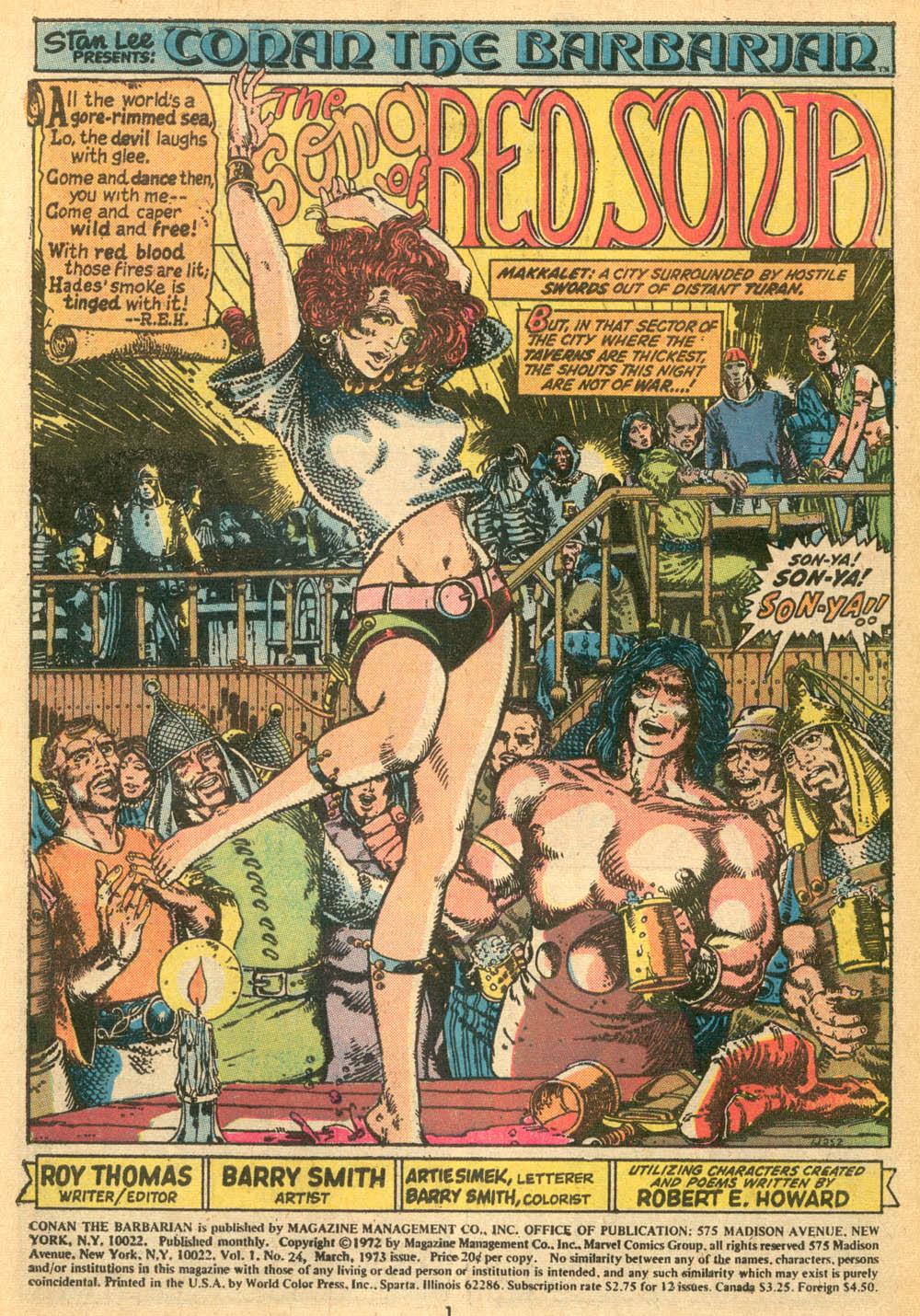 Conan the barbarian cartoon porn hentay gallery