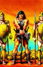 Conan the Cimmerian -8 Joseph Michael Linsner