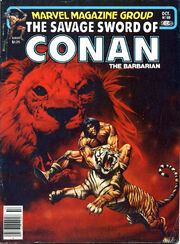 Savage Sword of Conan Vol 1 69