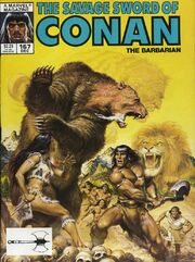 Savage Sword of Conan Vol 1 167