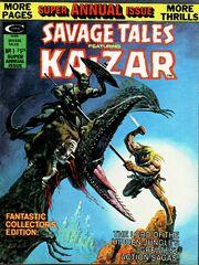 Savage Tales 12 Annual Savage Tales Summer , 1975