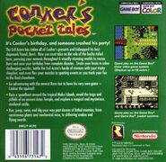 Conker Pocket Tales Back