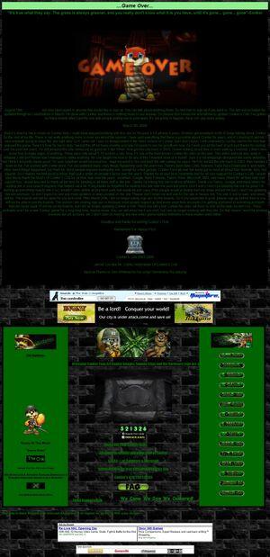 Conkers Crib Homepage