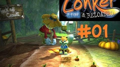 Let's Play Conker Live & Reloaded Folge 01 Conker und die Sauferei XBOX 360 HD
