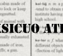 Atramia/Vocabulary