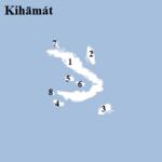 Kihāmát (Islands, numbered)