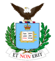 Coat of arms of Mulholland University.png